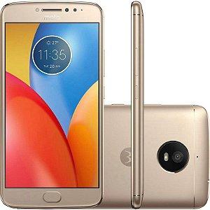 "SMARTPHONE MOTOROLA MOTO E4 PLUS XT1773 2RAM 16GB TELA 5.5"" LTE DUAL DOURADO"