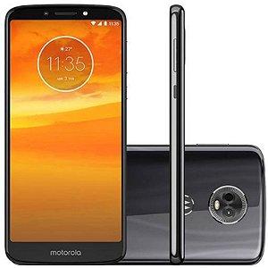 "SMARTPHONE MOTOROLA MOTO E5 PLUS XT1924-4 2RAM 16GB TELA 6.0"" LTE DUAL GRIS PRETO"