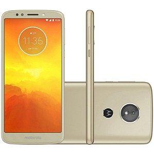 "SMARTPHONE MOTOROLA MOTO E5 XT1944-2 2RAM 16GB TELA 5.7"" LTE DUAL DOURADO"
