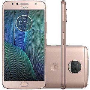 "SMARTPHONE MOTOROLA MOTO G5S PLUS XT1805 3RAM 32GB TELA 5.5"" LTE DUAL DOURADO"
