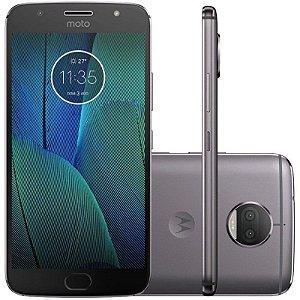 "SMARTPHONE MOTOROLA MOTO G5S PLUS XT1805 3RAM 32GB TELA 5.5"" LTE DUAL LUNAR GRAY PRETO"