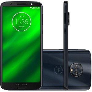 "SMARTPHONE MOTOROLA MOTO G6 PLUS XT1926-3 4RAM 64GB TELA 5.9"" LTE DUAL DEEP INDIGO"