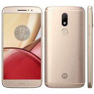 "SMARTPHONE MOTOROLA MOTO M XT1663 4RAM 32GB TELA 5.5"" LTE DUAL DOURADO"