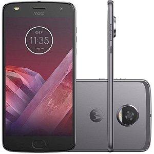 "SMARTPHONE MOTOROLA MOTO Z2 PLAY XT1710 4RAM 64GB TELA 5.5"" LTE DUAL GRAFITE"
