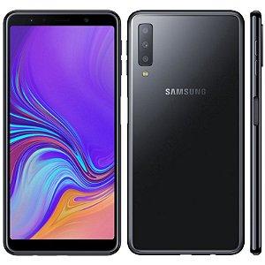 """SMARTPHONE SAMSUNG A7 SM-A750G 4 RAM 64GB TELA 6.0""""LTE DUAL PRETO"""