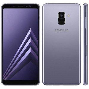 """SMARTPHONE SAMSUNG A8 SM-A530F 4RAM 64GB TELA 5.7"""" LTE DUAL GRAFITE"""