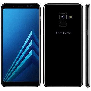"""SMARTPHONE SAMSUNG A8+ PLUS SM-A730F 4RAM 64GB TELA 6.0"""" LTE DUAL PRETO"""
