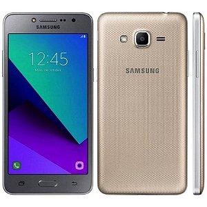 """SMARTPHONE SAMSUNG J2 PRIME SM-G532M 1.5RAM 16GB TELA 5.0"""" LTE DUAL DOURADO"""
