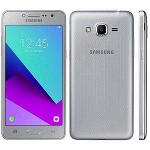 "SMARTPHONE SAMSUNG J2 PRIME SM-G532M 1.5RAM 16GB TELA 5.0"" LTE DUAL PRATA"