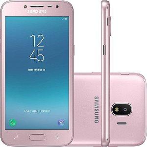 "SMARTPHONE SAMSUNG J2 PRO SM-J250M 1.5RAM 16GB TELA 5.0"" LTE DUAL ROSA"