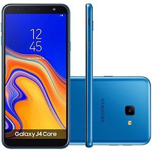 "SMARTPHONE SAMSUNG J4 CORE J410G 1RAM 16GB TELA 6.0"" LTE DUAL AZUL"