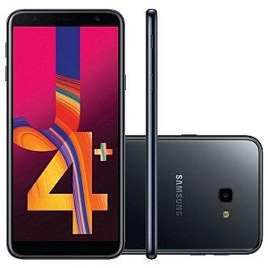 "SMARTPHONE SAMSUNG J4+ PLUS J415G 2RAM 16GB TELA 6.0"" LTE DUAL PRETO"