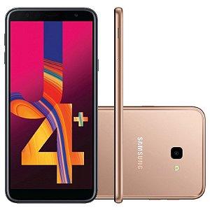 """SMARTPHONE SAMSUNG J4+ PLUS J415G 2RAM 32GB TELA 6.0"""" LTE DUAL COBRE"""