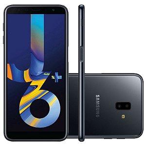 "SMARTPHONE SAMSUNG J6+ PLUS J610G 3RAM 32GB TELA 6.0"" LTE DUAL PRETO"