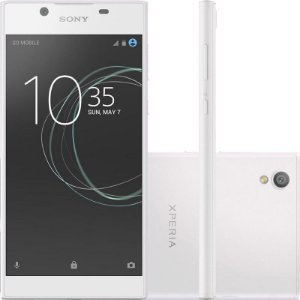 "SMARTPHONE SONY XPERIA L1 G3313 2RAM 16GB TELA 5.5"" LTE SINGLE BRANCO"