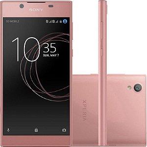 "SMARTPHONE SONY XPERIA L1 G3313 2RAM 16GB TELA 5.5"" LTE SINGLE ROSA"