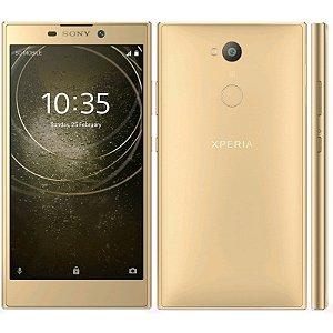 "SMARTPHONE SONY XPERIA L2 H3321 3RAM 32GB TELA 5.5"" LTE SINGLE DOURADO"