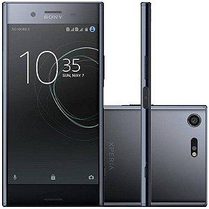 "SMARTPHONE SONY XPERIA XZ PREMIUM G8142 4RAM 64GB TELA 5.5"" LTE DUAL PRETO"