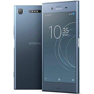 """SMARTPHONE SONY XPERIA XZ1 G8341 4RAM 64GB TELA 5.2"""" LTE SINGLE AZUL"""