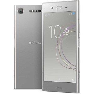 """SMARTPHONE SONY XPERIA XZ1 G8341 4RAM 64GB TELA 5.2"""" LTE SINGLE PRATA"""