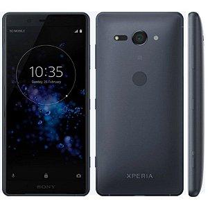 """SMARTPHONE SONY XPERIA XZ2 COMPACT H8314 4RAM 64GB TELA 5.0"""" LTE SINGLE PRETO"""