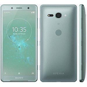 "SMARTPHONE SONY XPERIA XZ2 COMPACT H8314 4RAM 64GB TELA 5.0"" LTE SINGLE VERDE"