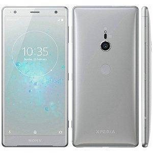 "SMARTPHONE SONY XPERIA XZ2 H8216 4RAM 64GB TELA 5.7"" LTE SINGLE PRATA"