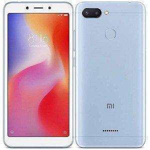 "SMARTPHONE XIAOMI REDMI 6 3RAM 64GB TELA 5.45"" LTE DUAL GLOBAL AZUL"