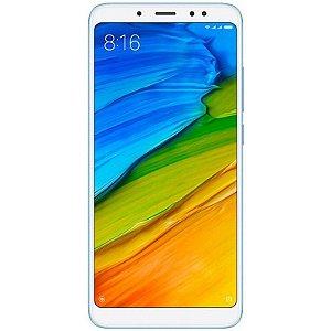 """SMARTPHONE XIAOMI REDMI NOTE 5 3RAM 32GB TELA 5.99"""" LTE DUAL GLOBAL AZUL"""