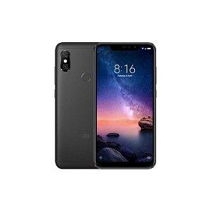 """SMARTPHONE XIAOMI REDMI NOTE 6 PRO 4RAM 32GB TELA 6.26"""" LTE DUAL GLOBAL PRETO"""