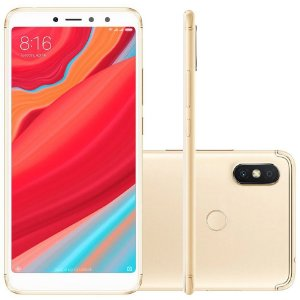"SMARTPHONE XIAOMI REDMI S2 3RAM 32GB TELA 5.99"" LTE DUAL GLOBAL DOURADO"