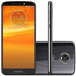 "SMARTPHONE MOTOROLA MOTO E5 PLUS XT1924-3 3RAM 16GB TELA 6.0"" LTE DUAL GRIS PRETO"