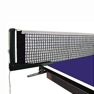 Kit Suporte Grampo + Rede Algodão de Tênis de Mesa / Ping Pong Klopf 5034