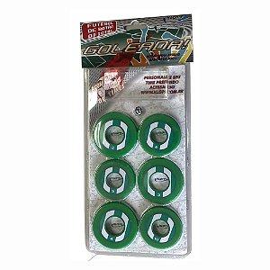 Jogo de Futebol de Botão Verde e Branco Klopf 4094