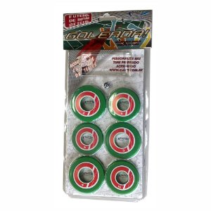 Jogo de Futebol de Botão Verde e Vermelho Klopf 4098