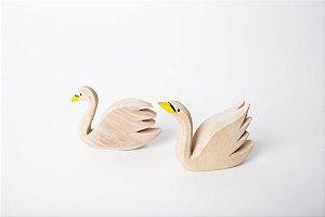 Cisne Cabeça e Rabo para Cima ou Baixo