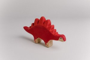 Dino Vermelho Stegosaurus
