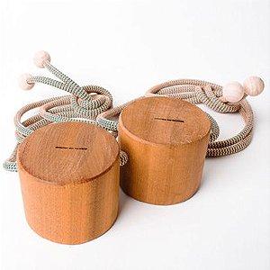 Pés de Toco - vc pode escolher a cor da corda