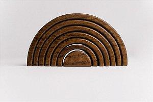 Arco Pequeno - Opção 05 madeira crua (escura)