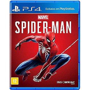 Jogo Spider Man Homem Aranha Mídia Física PS4 Original