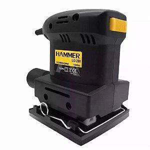 Lixadeira Hammer Orbital 1/4 135w - 110v