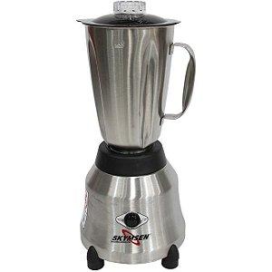 Liquidificador Skymsen LI-1,5-N 1,5L Inox Copo de Inox Alta Rotação -220v