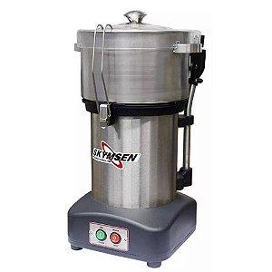 Preparador de alimentos Cutter Skymsen Inox CR-4L 4 Litros NR12 - 110V