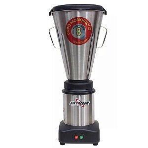 Liquidificador Comercial Skymsen 8L LS-08MB-N Inox - 127v