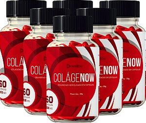 6 Potes de  Colagenow - Colágeno Rejuvenescedor