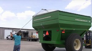 3-LR1700 Carreta Graneleira Agrícola Lona Fácil até  4 metros