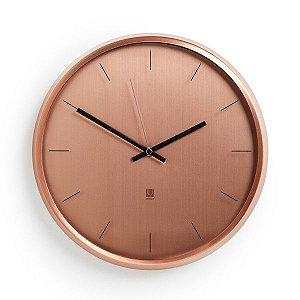 Relógio de Parede Meta Umbra - Cobre