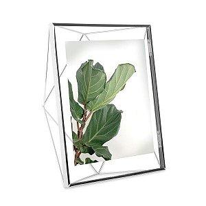 Porta Retrato Prisma Umbra 20x25cm - Cromado