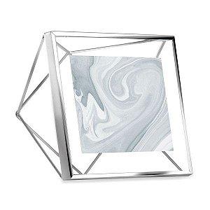 Porta Retrato Prisma Umbra 10x10cm - Cromado