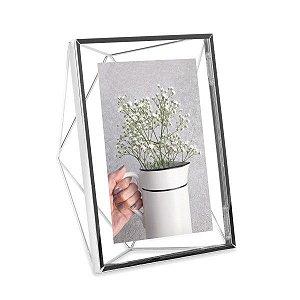 Porta Retrato Prisma Umbra 13x18cm - Cromado
